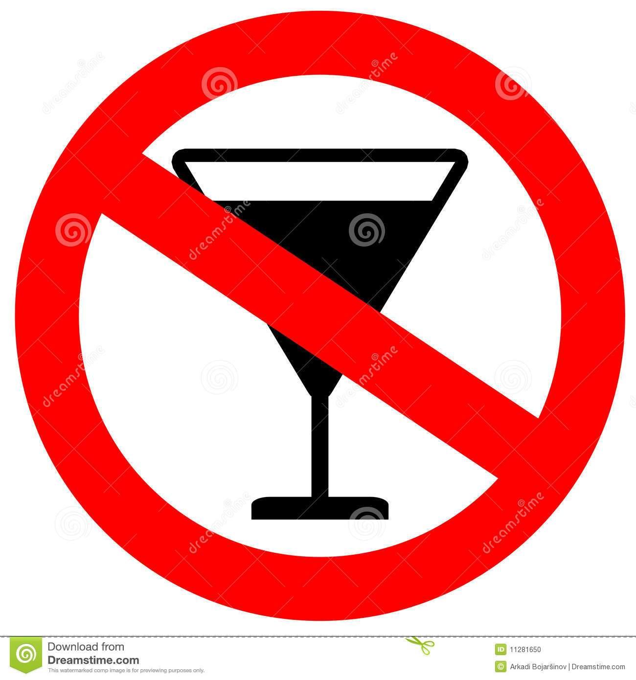 No alcohol sign clipart 7 » Clipart Portal.