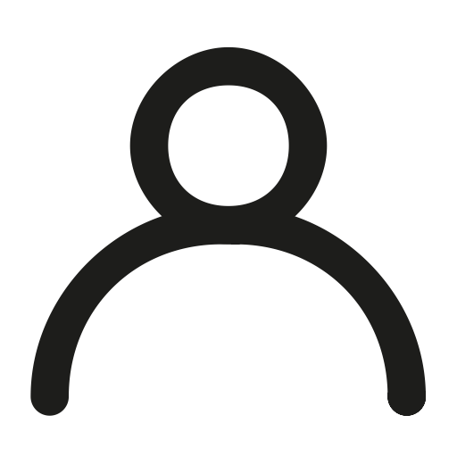 Avatar, circle, man, no gender, outline, person, woman icon.