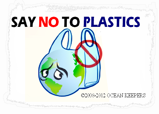 Plastic bags.