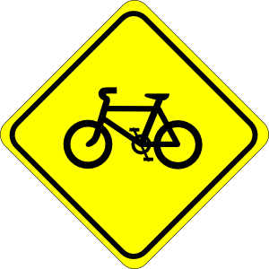Watch For Bicycles Sign Clip Art at Clker.com.