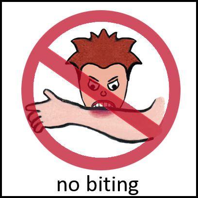 No biting clipart 1 » Clipart Portal.