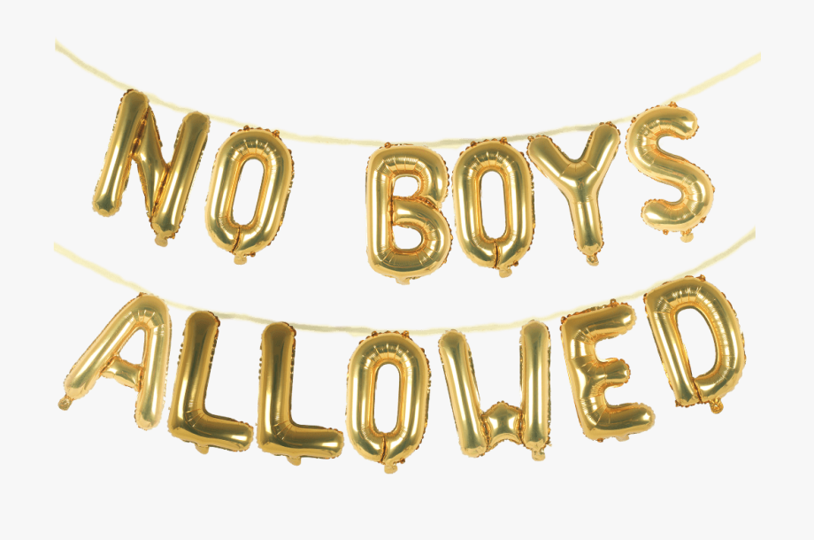 No Boys Allowed 16\