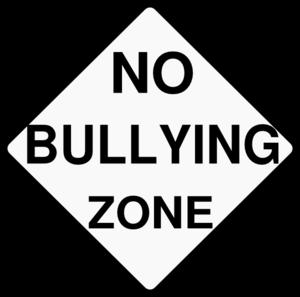 No Bullying Zone Clip Art at Clker.com.
