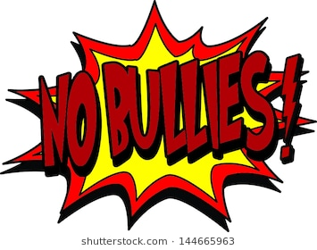 1420 Bullying free clipart.
