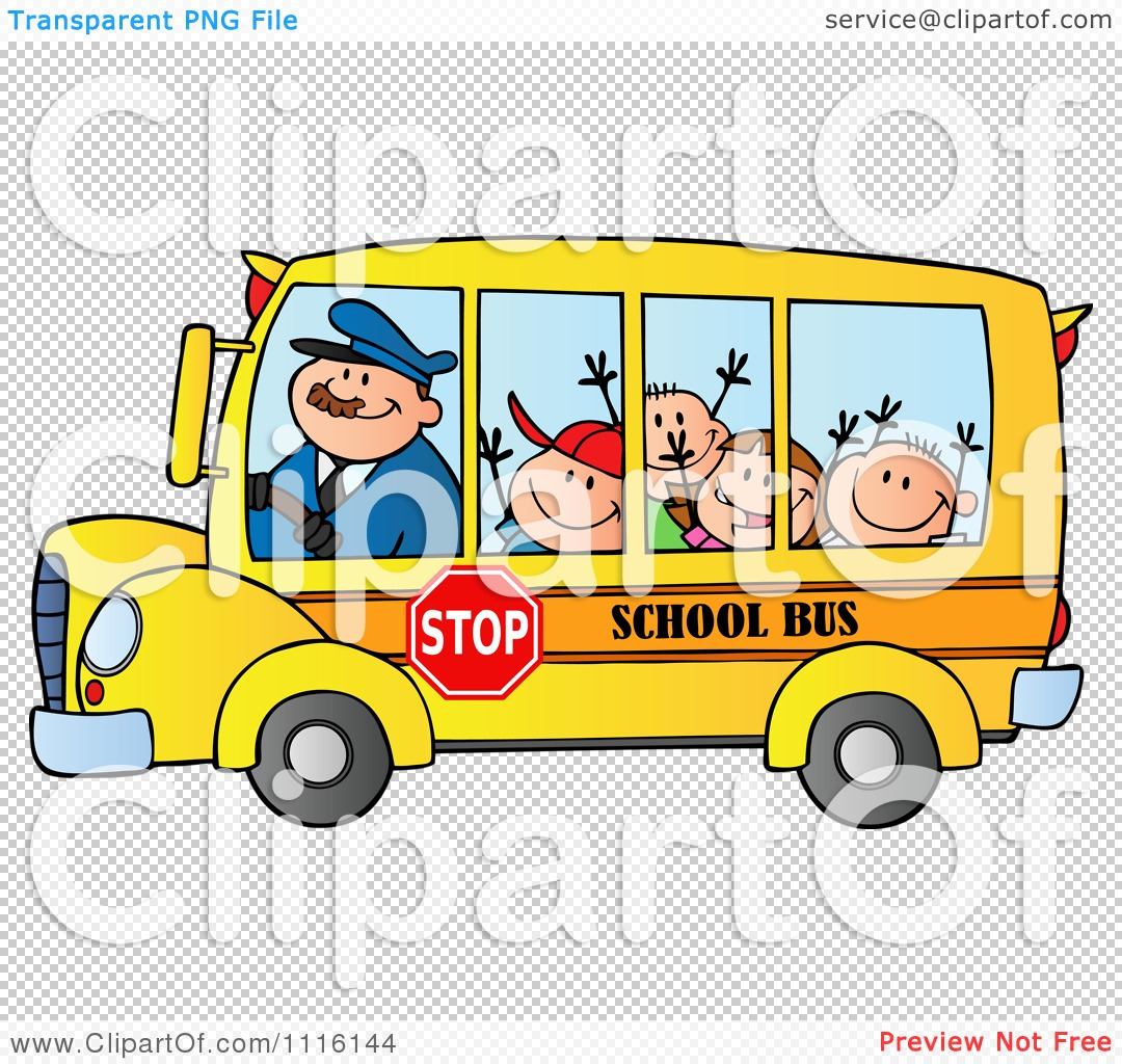 Showing post & media for Cartoon bus transparent background.