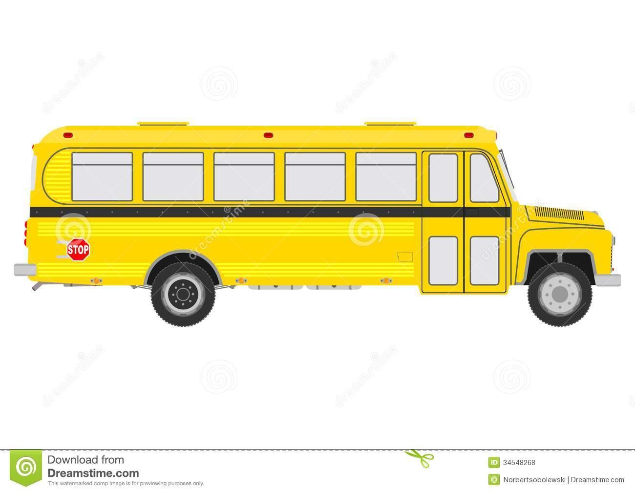 School Bus Clipart Image.