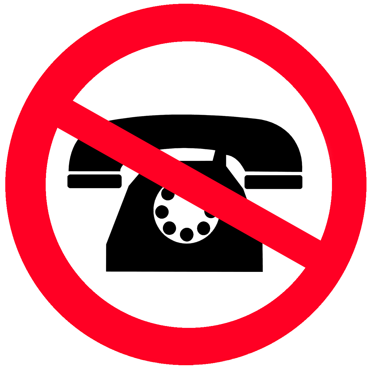 no call clipart clipground