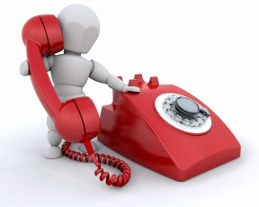 Phone Call No Answer Clipart.