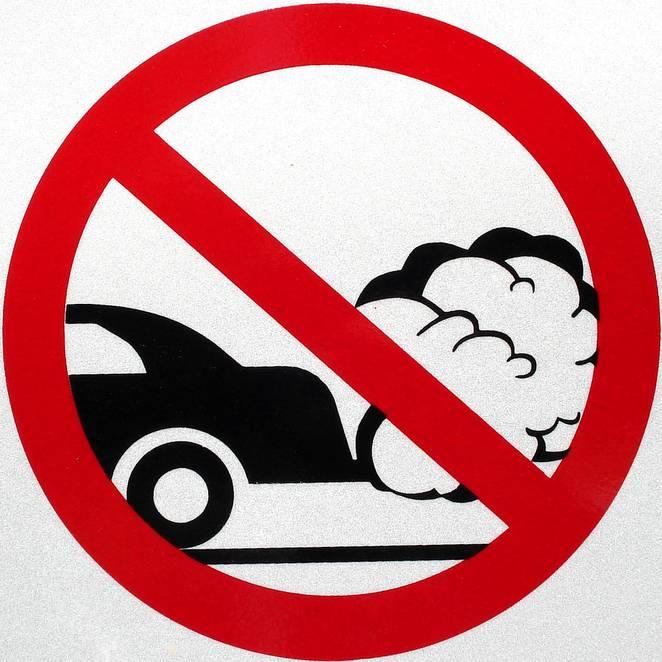 Showing post & media for Car pollution symbol.