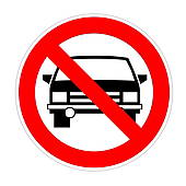 Car Park Sign Stock Illustrations.