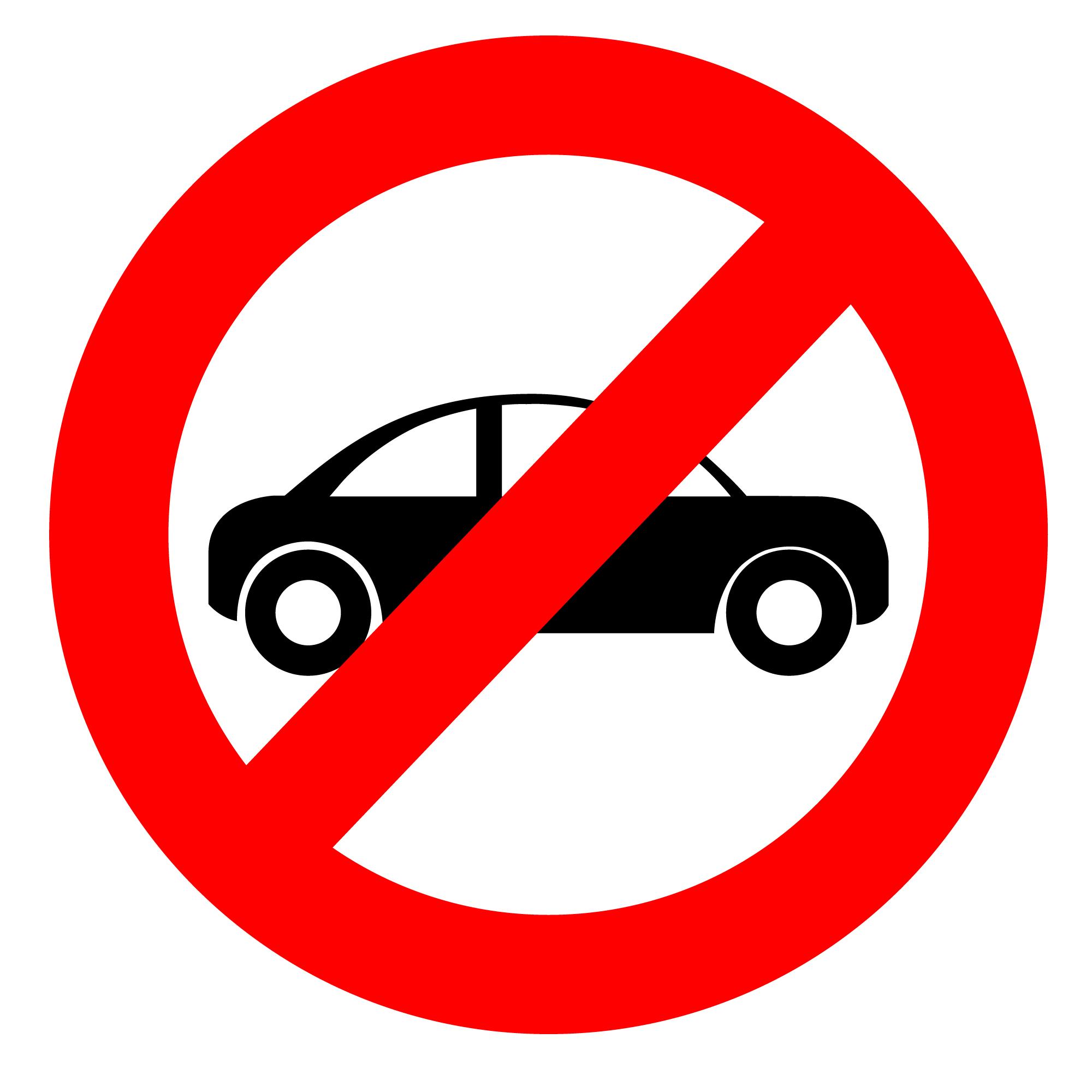No Cars.