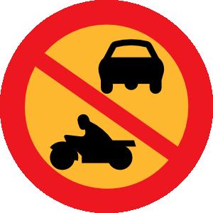 No Motorbikes Or Cars Clip Art at Clker.com.