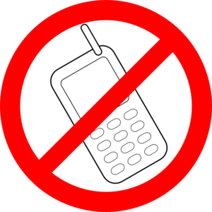 No Cell Phone Clipart.