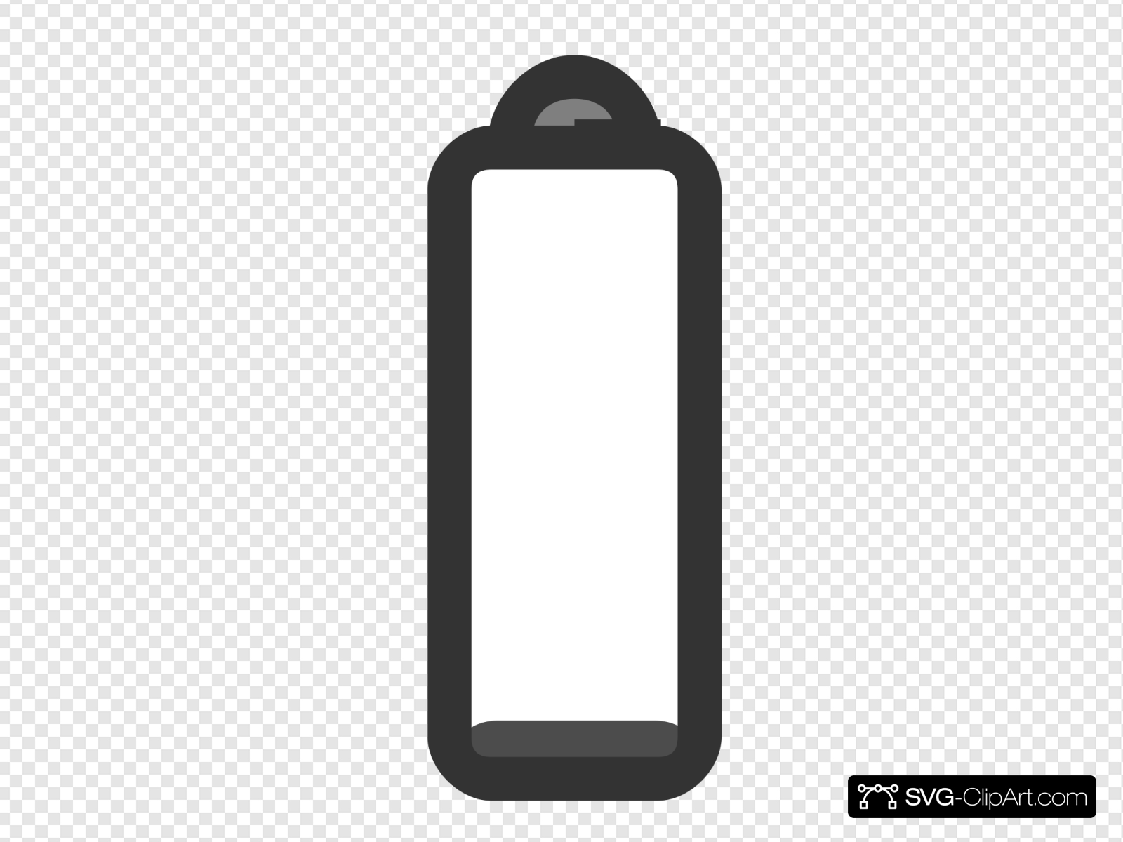 Laptop No Charge Clip art, Icon and SVG.