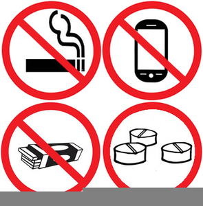 No Gum Chewing Clipart.