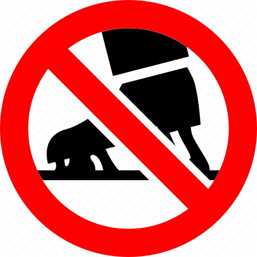 \'Prohibited red signs\' by Ecelop.