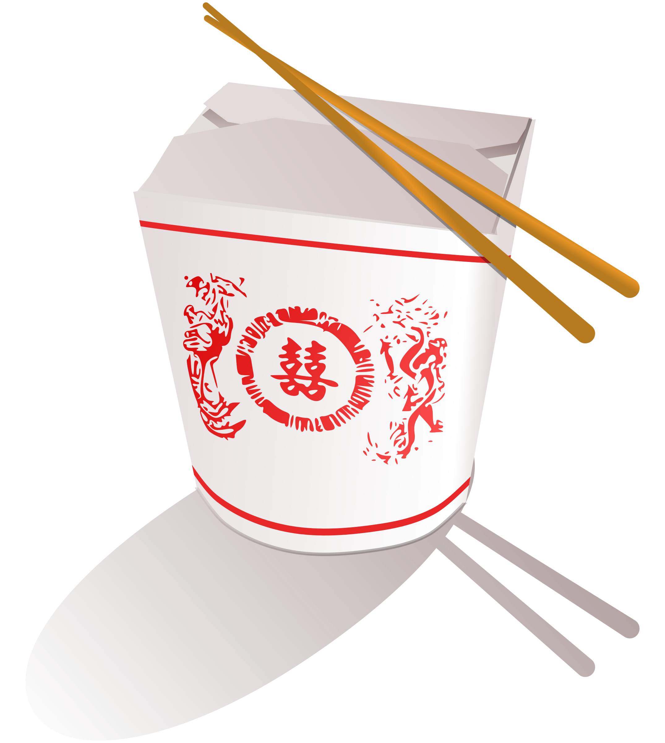 No Chinese Food Clipart.