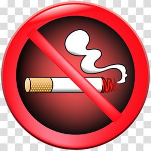 Stop Smoking , Cigarette Tobacco Cartoon, No smoking.