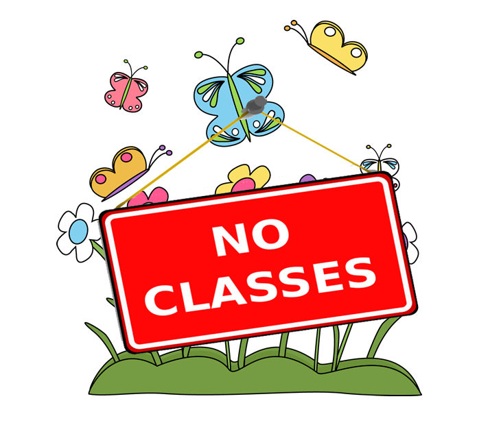 Spring Recess for Students (No Classes).