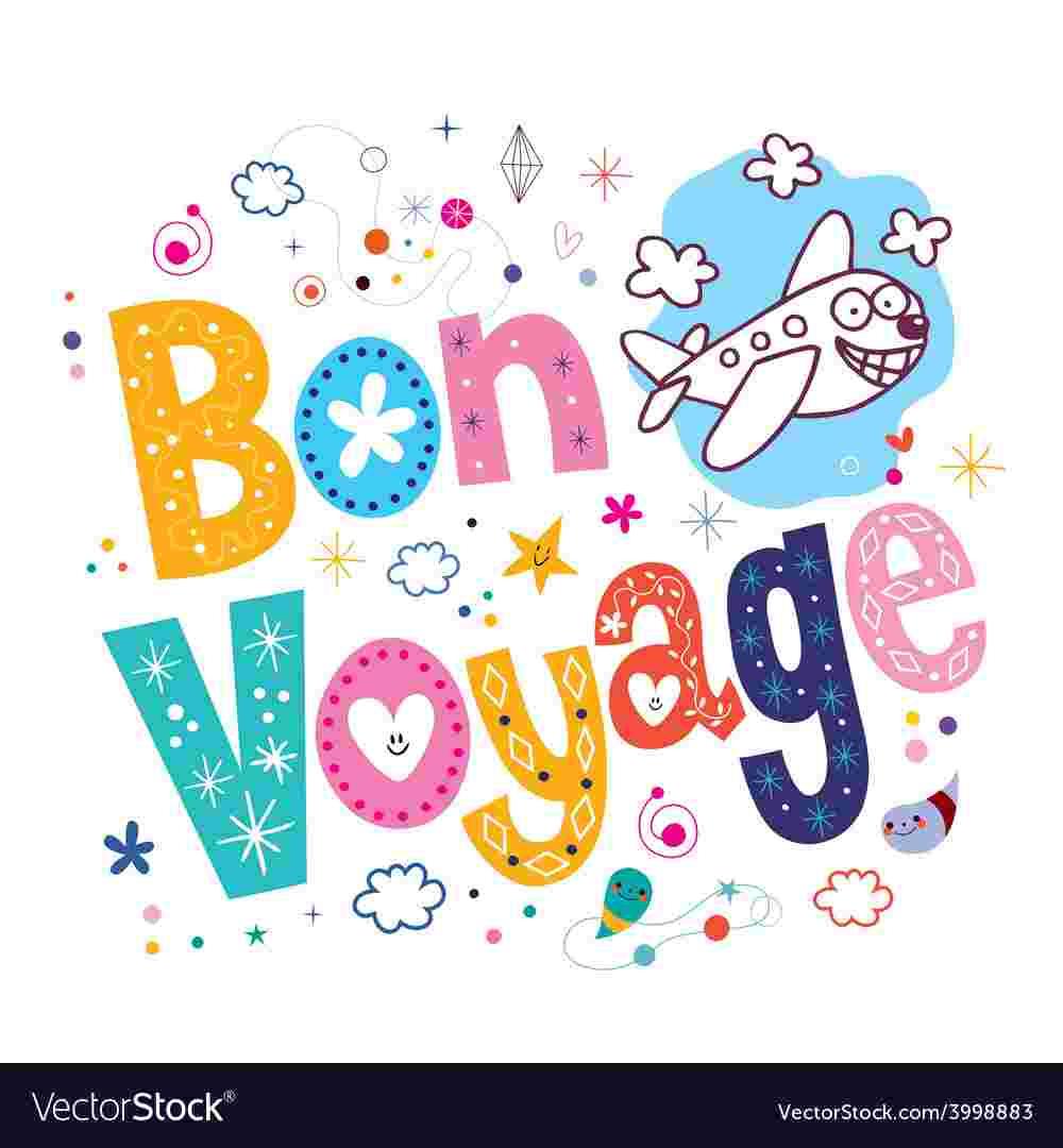 Cliparts Library: Free Clipart Bon Voage Bon Voyage Clip Art.