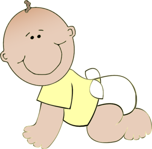 Showing post & media for Cartoon baby crawling clip art.