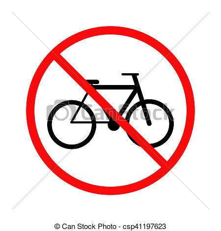 No cycling Illustrations and Stock Art. 422 No cycling.