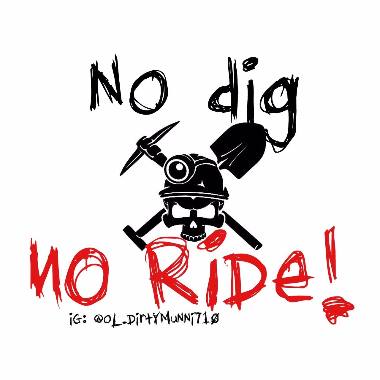 no dig NO RIDE! (ep.1).