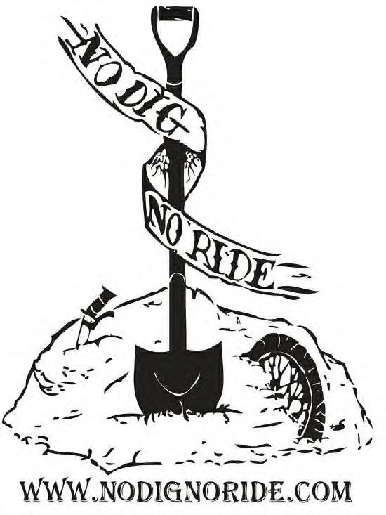 Efiles at No Dig No Ride in Aptos, California, United States.