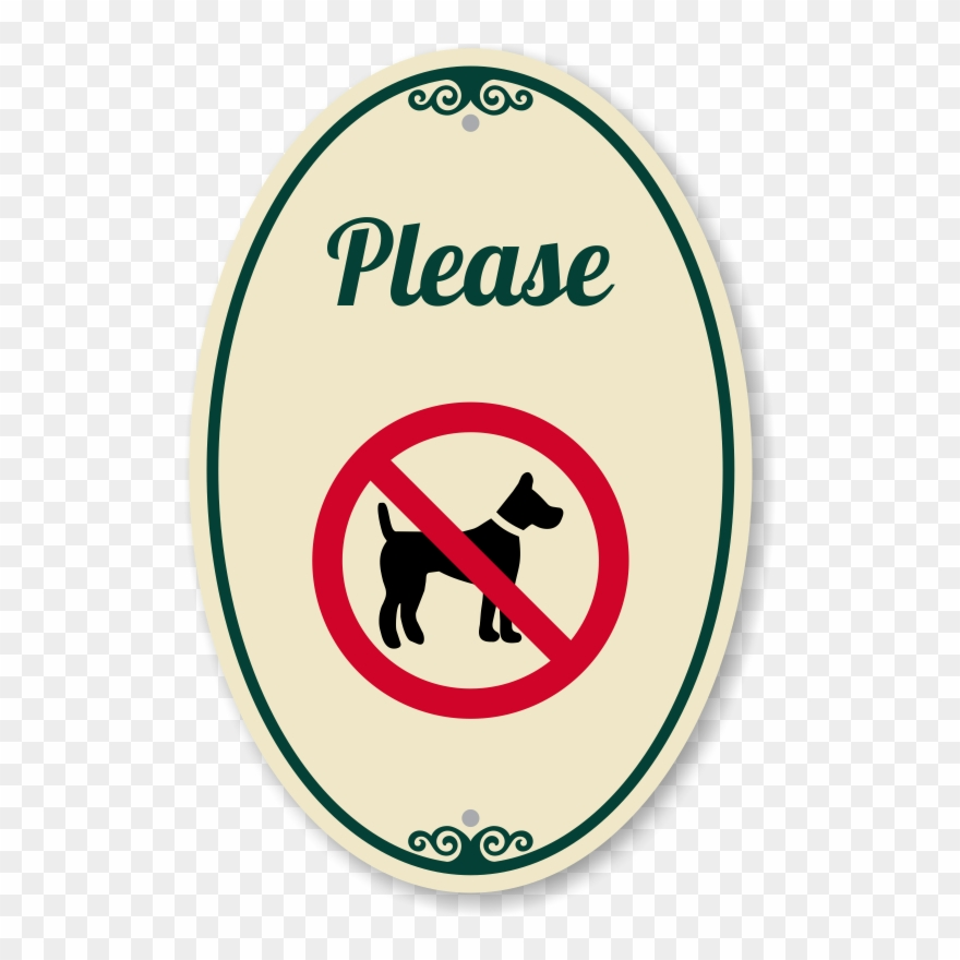 No Dogs Allowed Signaturesign Clipart (#2423291).