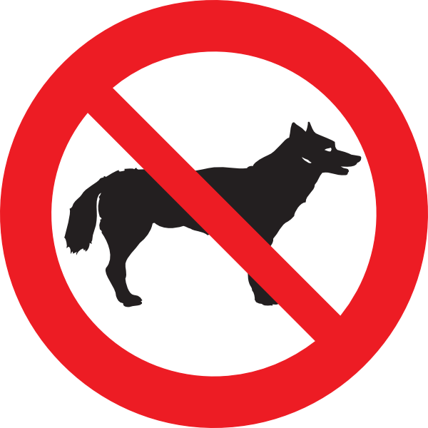 No Dogs Clip Art at Clker.com.