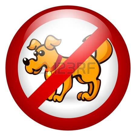 458 No Dogs Allowed Cliparts, Stock Vector And Royalty Free No.