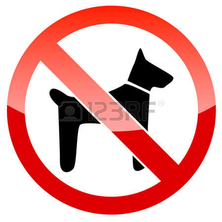 511 No Dogs Allowed Cliparts, Stock Vector And Royalty Free No.