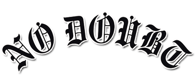 No Doubt music logo in 2019.