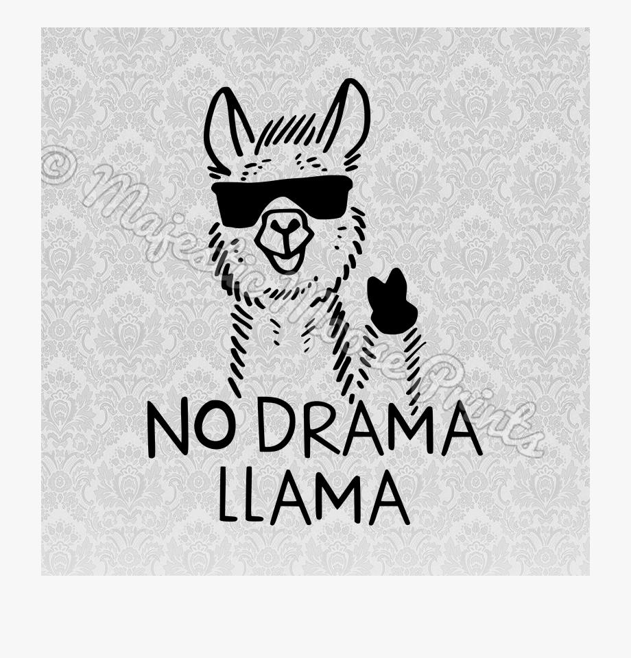 Llama Clipart Svg.