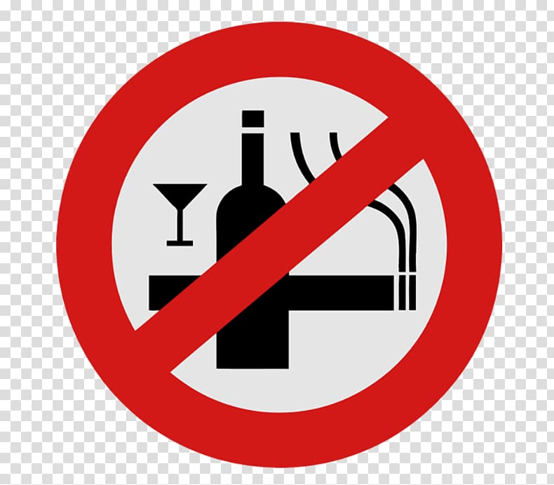 No drinking and smoking logo, Alcoholic drink Beer Smoking.