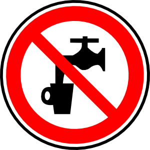 No water clipart free.