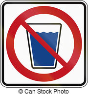 No drinking water Illustrations and Stock Art. 251 No drinking.