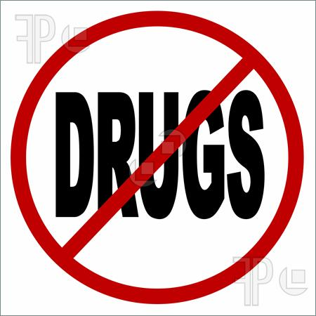 Clipart no drugs.