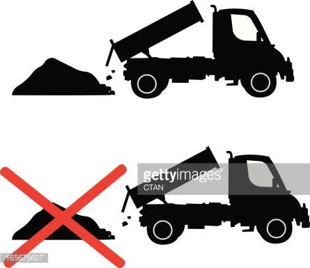 no dumping symbol Clipart Image.