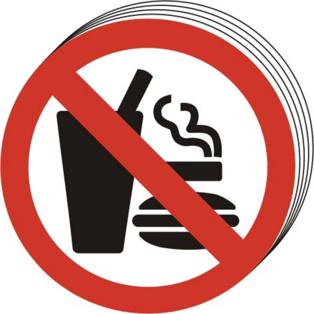 No Eating Or Drinking Clipart.