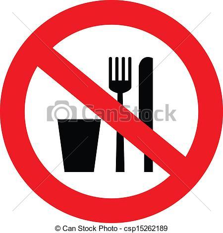 No food drink sign Clip Art Vector Graphics. 512 No food drink.