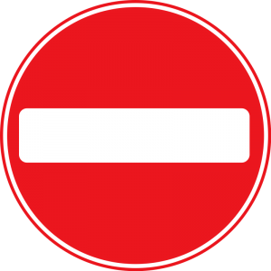No Entry Clip Art Download.