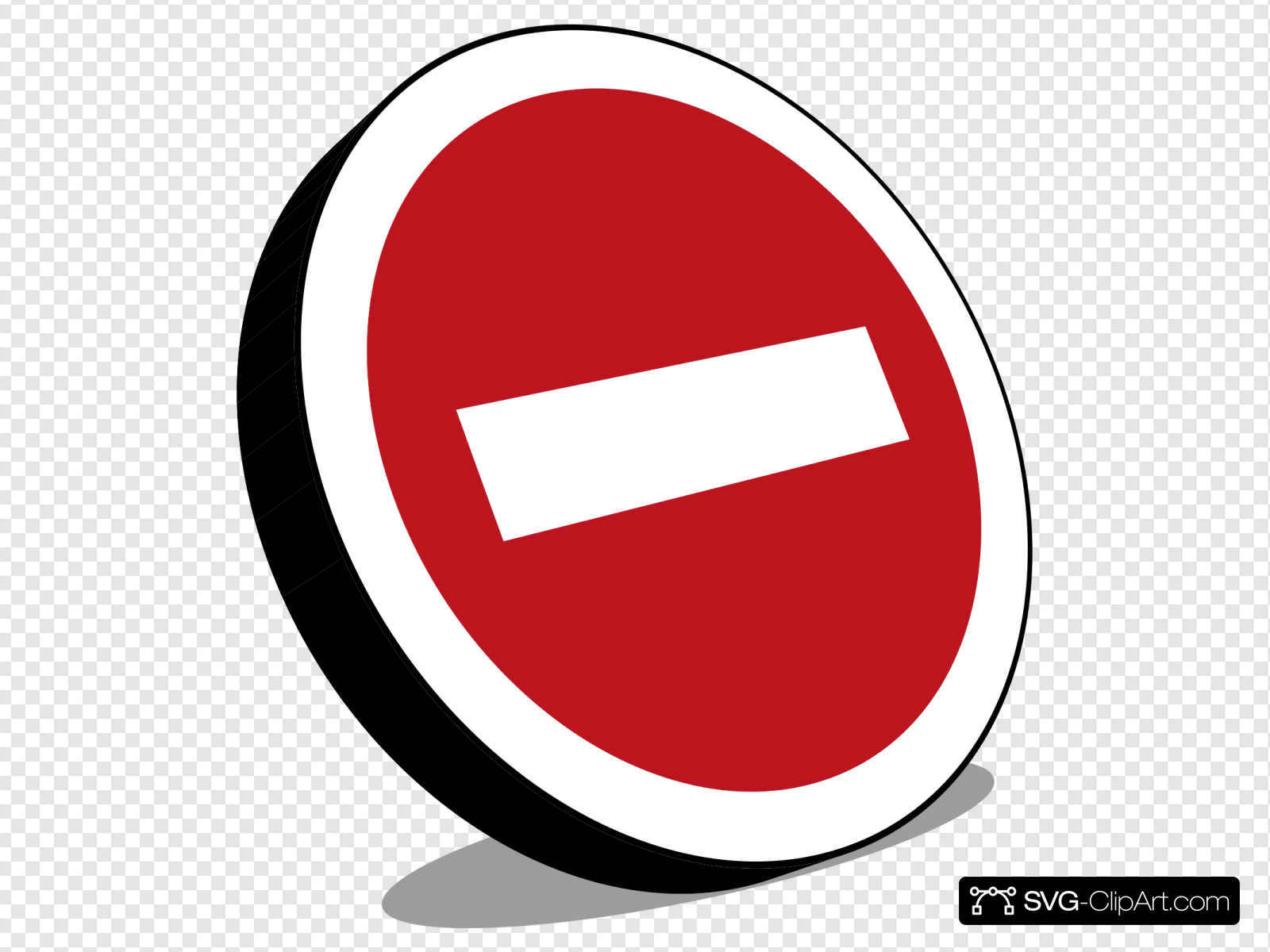 No Entry Sign Clip art, Icon and SVG.