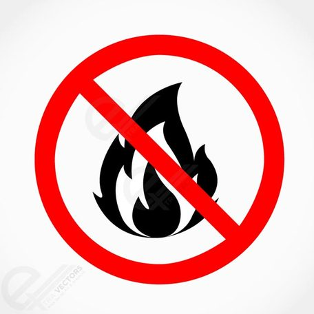 No fire clipart.