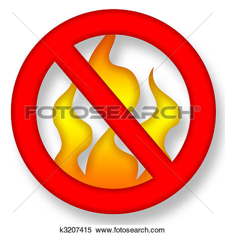 Stock Illustration of No Fire k3207415.