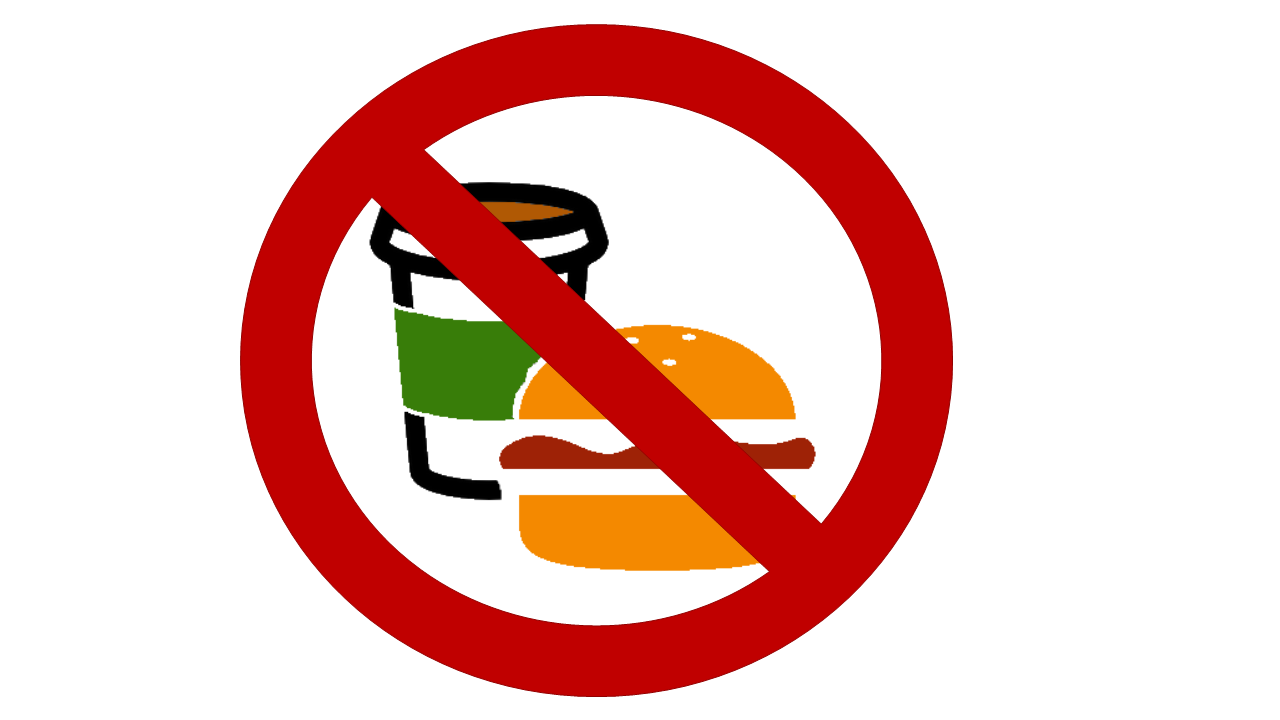 Prohibited clipart food beverage for free download and use.