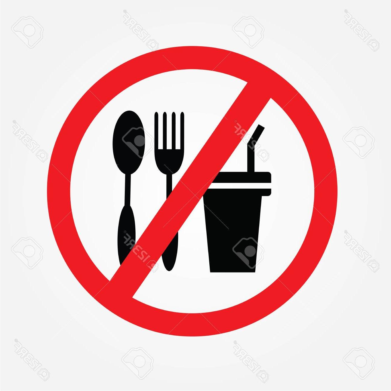Best Free No Food Or Drink Allowed Clip Art Cdr » Free.