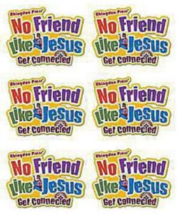Vacation Bible School 2012 Pkg 12 No Friend Like Jesus Iron.