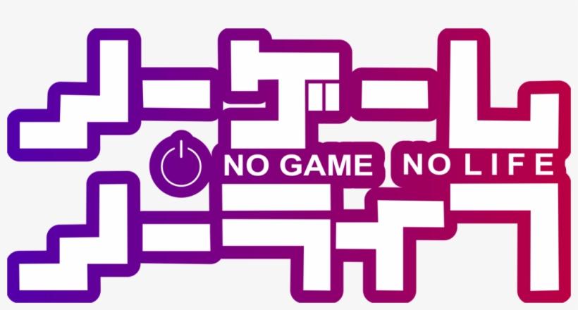 No Game No Life Title.