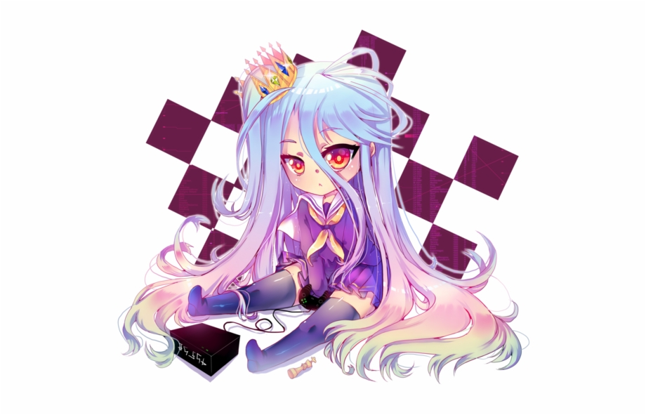 Shiro No Game No Life Png Free PNG Images & Clipart Download.
